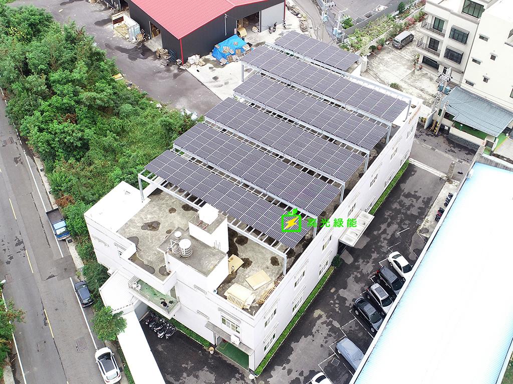 台南永康_工廠屋頂_99Kw